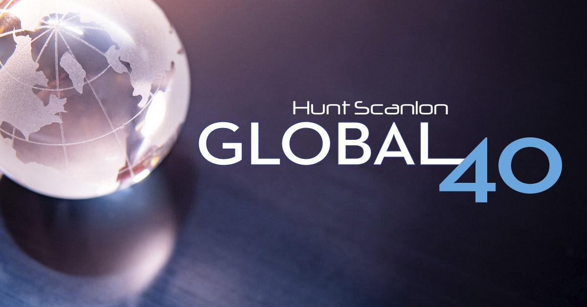 June 2020 – Agilium Worldwide among Hunt Scanlon's GLOBAL 40 top recruiters!